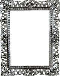 Image Vintage Style 15 Ornate Black Picture Frame Png For Free Download On Mbtskoudsalg Dlpng Ornate Png Dlpng