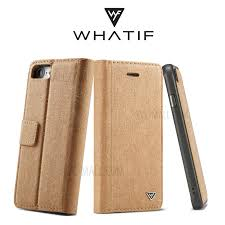 wf detachable waterproof paper coated pc tpu hybrid diy wallet stand case for iphone 8