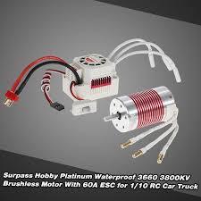 <b>SURPASS HOBBY Platinum</b> Set 3660 3800KV Brushless Motor with ...