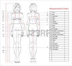Measurements Body Chart Magdalene Project Org