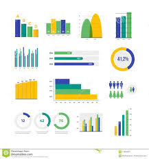 Infographic Vector Elements Set Of Financial And Marketing