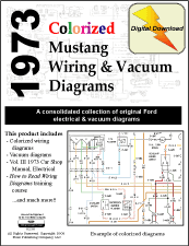 1973 mustang mach 1 wiring diagram 1973 image fordmanuals com 1973 colorized mustang wiring diagrams ebook
