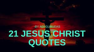 21 Jesus Christ Quotes In Hindi By Adi Gurudas