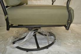 hampton bay edington patio swivel rocker lounge chair with celery cushion hampton bay swivel patio bar chairs home decor mrsilva us
