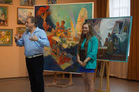 У ПолтНТУ відбувся виїзний захист магістерських та дипломних робіт   художник України Олександр Левадний який зазначив що цьогорічні випускники мають не лише гідну майстерність у роботі а й яскраву життєву позицію