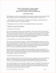 Thesis Proposal Format Example Dissertation Sample Pdf Qualitative
