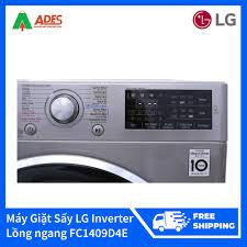 Bán Máy Giặt Sấy LG Inverter 9kg Lồng ngang FC1409D4E chỉ 12.089.000₫
