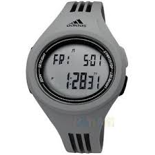 new adidas mens uraha adp3176 digital sport watch grey black ma05 image is loading new adidas mens uraha adp3176 digital sport watch
