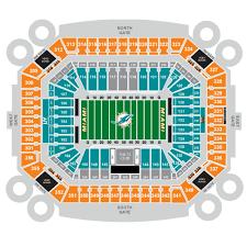 Joe Bruno Stadium Seating Chart Miami Dolphins Football Eseats Com