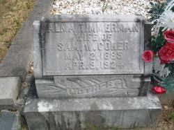 Alma Timmerman Coker (1885-1924) - Find A Grave Memorial
