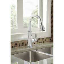 Motionsense Kitchen Faucet Moen 7185esrs Brantford Spot Resistant Stainless Steel Pullout