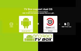 GT-King TV Box series with <b>Dual</b> OS (Android + CoreELEC) via TF ...
