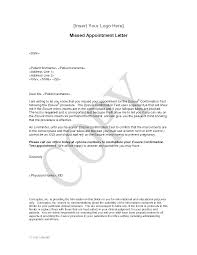 Doctor Appointment Letter To Patient 1 Letter Templates Oneletter Co