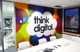 creative office walls. Creative Office Branding Using Wall Graphics From Vinyl Impression, Stickers Give A Professional Look Walls