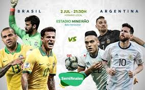 Maybe you would like to learn more about one of these? Brazil Vs Argentina Copa America Semifinal