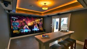 games room lighting. For Demonstration Purposes In This Astoria Custom Homes Showhome At The Street Of Dreams Event, Lattion And His Team Designed A Special GOLF Button On An Games Room Lighting