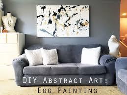 fullsize of affordable egg diy canvas egg splatter g abstract art diy canvas painting singapore diy