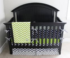 lime crib sheet boy crib bedding lime green chevron navy blue and grey