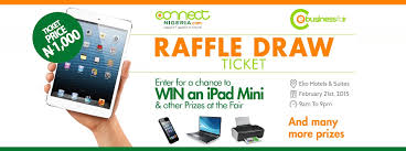 raffle draw application connect nigeria bizfair raffle draw
