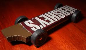 pinewood derby race cars hershey s chocolate bar pinewood derby car hershey s cho flickr