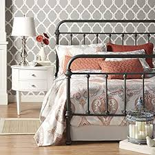 Amazon.com: Nottingham Metal Spindle Bed Queen Size: Kitchen & Dining