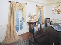 formal dining room curtains. Formal Dining Room Window Treatments Photo - 2 Curtains