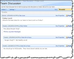 Discussion Board Vs Blog Nothingbutsharepoint Com