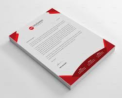 3d Letterhead Design Letterhead Template