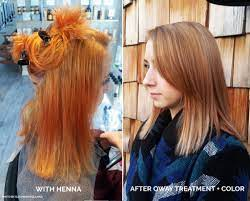 how to deal with henna in your clients hair