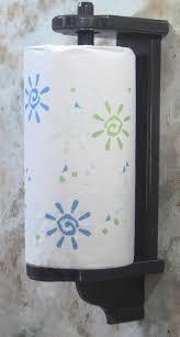 towel stand wood. Splendid Ideas Vertical Wall Mount Paper Towel Holder Plus Satin Black Wood Zoom Mounted Stand