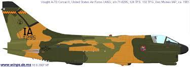 Wings Palette Vought A 7 Corsair 2 Usa