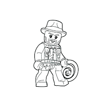 Excellent Idea Lego Cowboy Coloring Pages Coloring