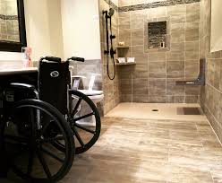 Handicap Tile Shower Designs Handicap Shower Accessible Systems