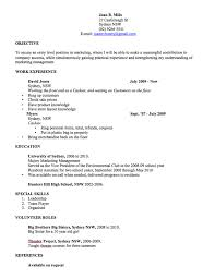 Gmail Resume Templates