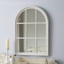 large arched mirror. Large Arch Window - Antique White Arched Mirror C