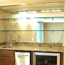 back bar mirrors with shelves mirror glass home shelf magnificent at and throughout kitchen engaging