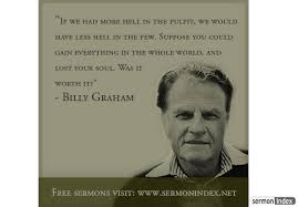 Billy Graham Quotes Impressive Billy Graham Quote Sermon Index