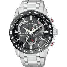 men s citizen chrono perpetual a t alarm chronograph radio mens citizen chrono perpetual a t alarm chronograph radio controlled eco drive watch at4008 51e