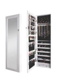 BTExpert Premium Wooden Wall Mount Jewelry Armoire Cabinet Wall Mounted Jewelry Cabinet N0