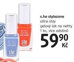 Sleva She Stylezone Ultra S She Stylezone Ultra Stay Gelový Lak