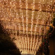 Twinkle Icicle Led Lights Us 19 14 33 Off 8 0 5m 192 Led Curtain Twinkle Stars Icicle Led String Light Fairy Garland Window Indoor Outdoor Holiday Decoration Christmas Jq In