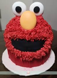 Elmo Smash Cake Joys Cakes And Sweets