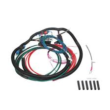 afco 8000044401 universal single cooling fan wire harness 40 amp relay 88 Camaro Cooling Fan Relay Cooling Fan Wiring Harness #48