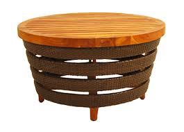 fb 5582 a teak resin coffee table