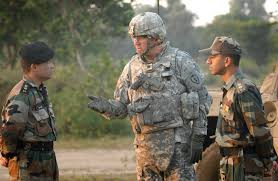 u s  department of defense  photo essay jim isenhower talks   indian army officers following an early