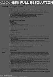 Bartender Sample Resume Resume Work Template