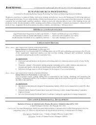 Hr Resume Objective Hr Resume Objective Street Generalist Sample