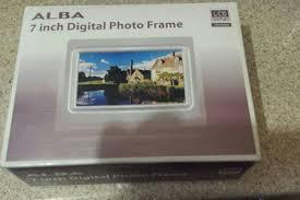 alba 7 inch digital photo frame silver viewframes org