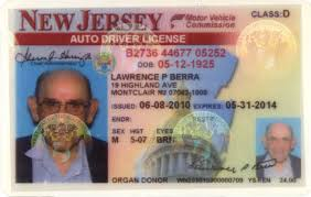 Lot Jersey Personal Drivers Berra's Detail Yogi - New License