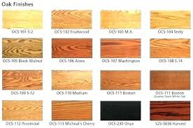 Wood Furniture Stain Color Chart Types Of Oak Wood Furniture Chernovtsy Info